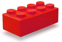 Form Design and Application Layout - Image of Red Lego