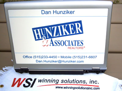 Custom notebook panel | Winning Solutions, Inc.